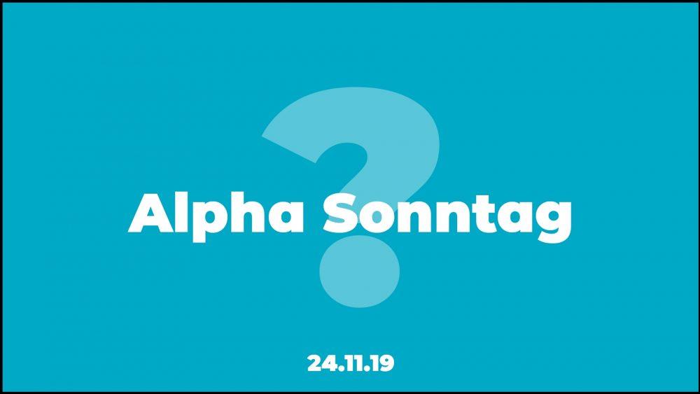 Alpha Sonntag 2019
