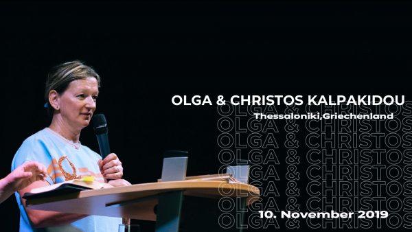 Lebensberichte Olga und Christos 2019