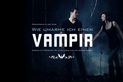 Wie umarme ich einen Vampir?