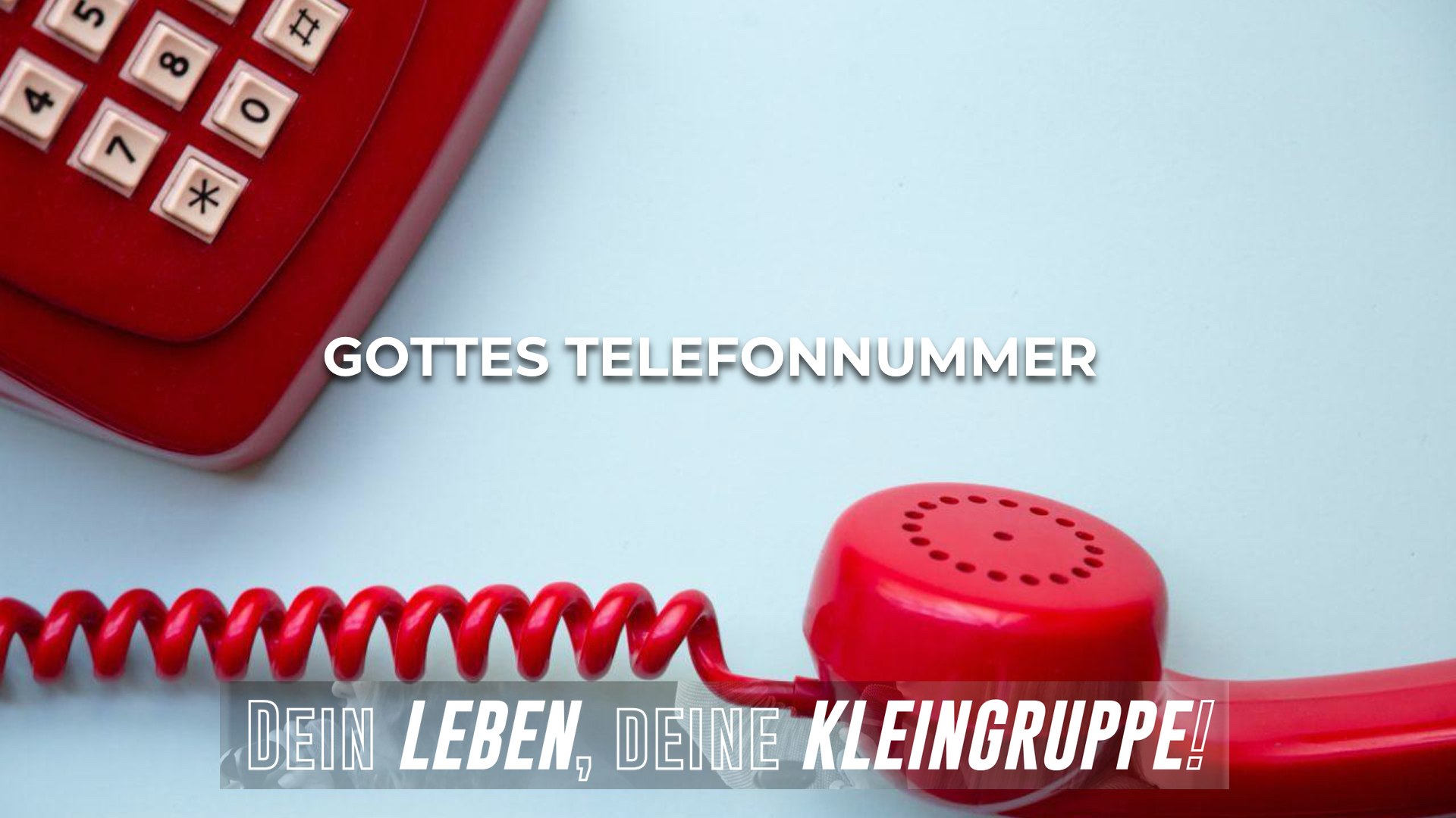 Gottes Telefonnummer