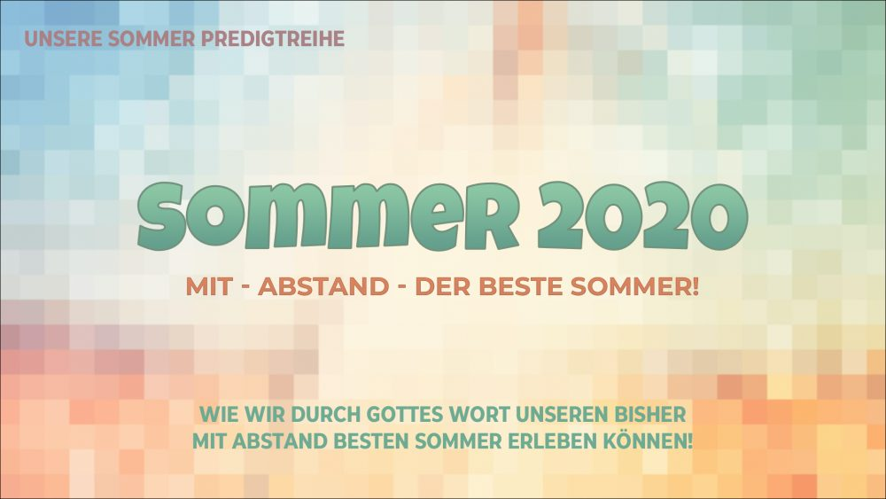 Sommer 2020